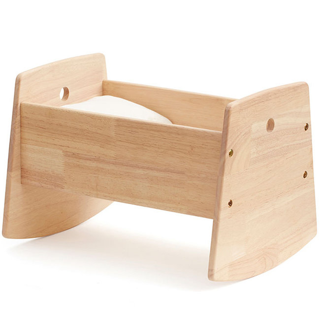 Kids Concept Doll crib wood incl. bedset