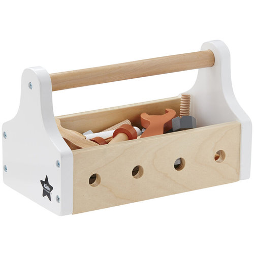 Kids Concept Toolbox with tools