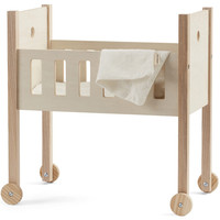 Doll bed wood incl. bedset