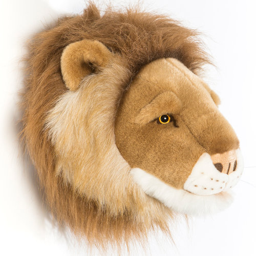 Wild and Soft Lion trophy soft toy Cesar
