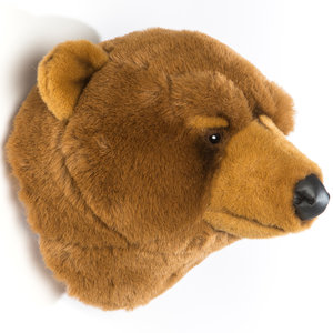 Wild and Soft Bear trophy soft toy Oliver