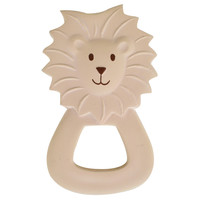 Lion teether beige