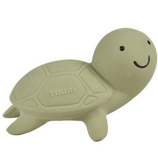 Tikiri Turtle bath toy and rattle green