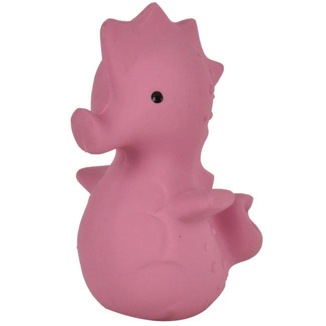 Tikiri Seepferdchen Badspielzeug und Rassel Rosa