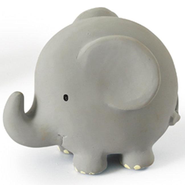 Tikiri Elefant Badspielzeug und Rassel Grau