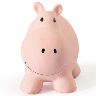 Tikiri Nijlpaard badspeeltje en rammelaar roze