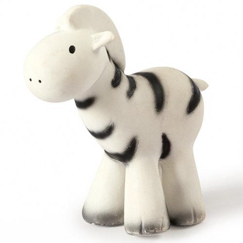 Tikiri Zebra bath toy and rattle white