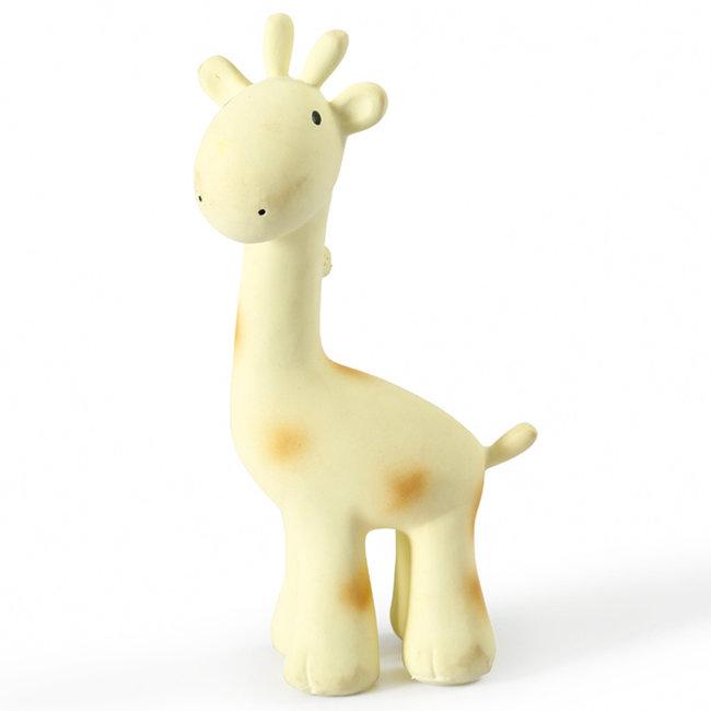 Tikiri Giraffe Badspielzeug und Rassel Gelb