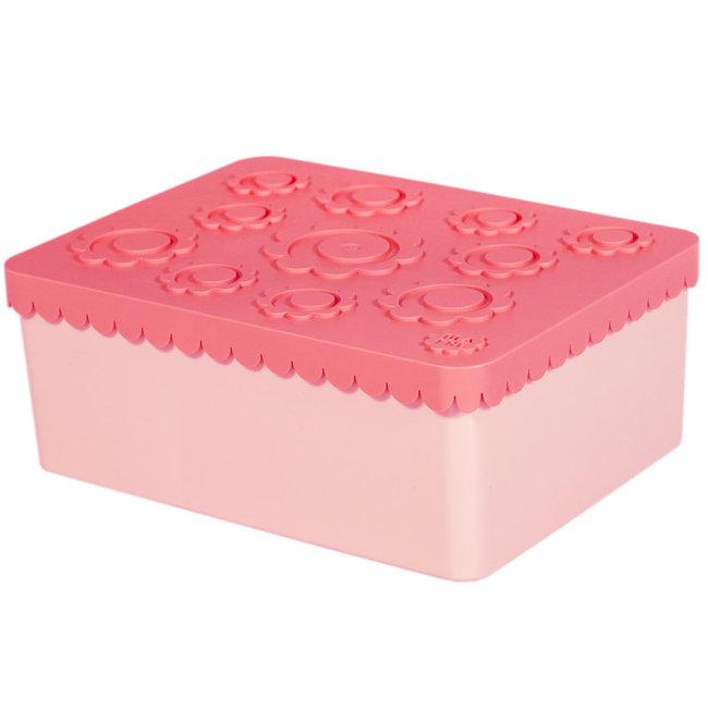 Blafre Brotdose Rosa Fächer