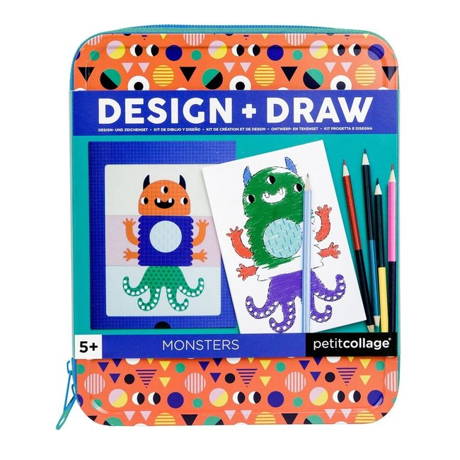 Petit Collage Design en teken monsters