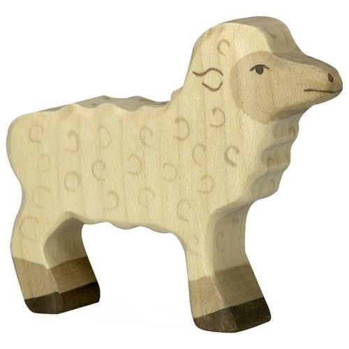 Holztiger Lamb beige 80076 7 cm