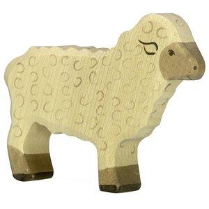 Holztiger Sheep beige 80073 11 cm