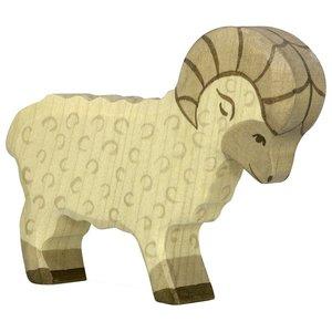 Holztiger Ram beige 80071 11,5 cm