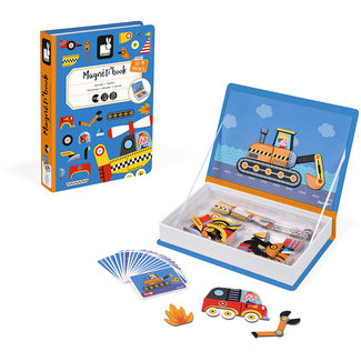 Janod Magneti'Book racers 50 pieces