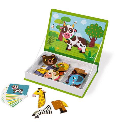 Janod Magneti'Book animals 30 pieces
