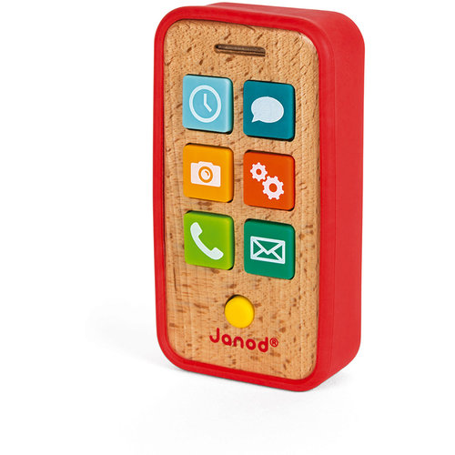 Janod Telephone with sound wood
