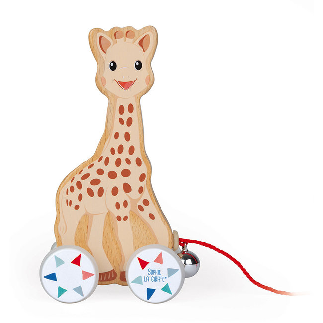 Janod Sophie de Giraffe trekfiguur