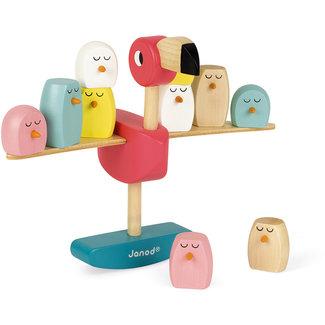 Janod Balancing game flamingo