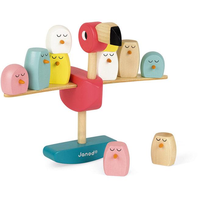 Janod Balance Spiel Flamingo