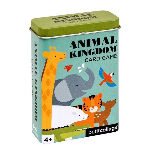 Petit Collage Card game animals