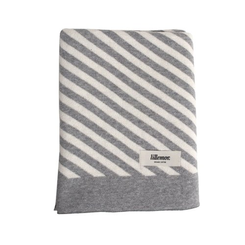 Eef Lillemor Blanket Stripes grey