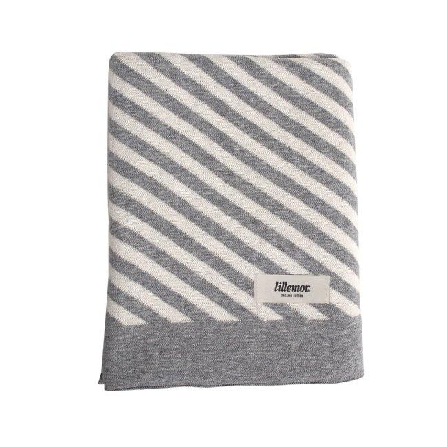 Eef Lillemor Blanket Stripes grey