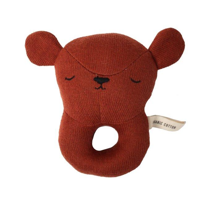 Eef Lillemor Rattle bear red