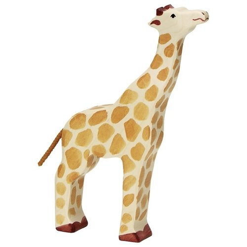 Holztiger Giraffe head raised 80155 21,5 cm