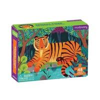 Mini puzzle tiger 48 pieces