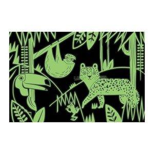 Mudpuppy Glow in the dark Puzzle Rainforest