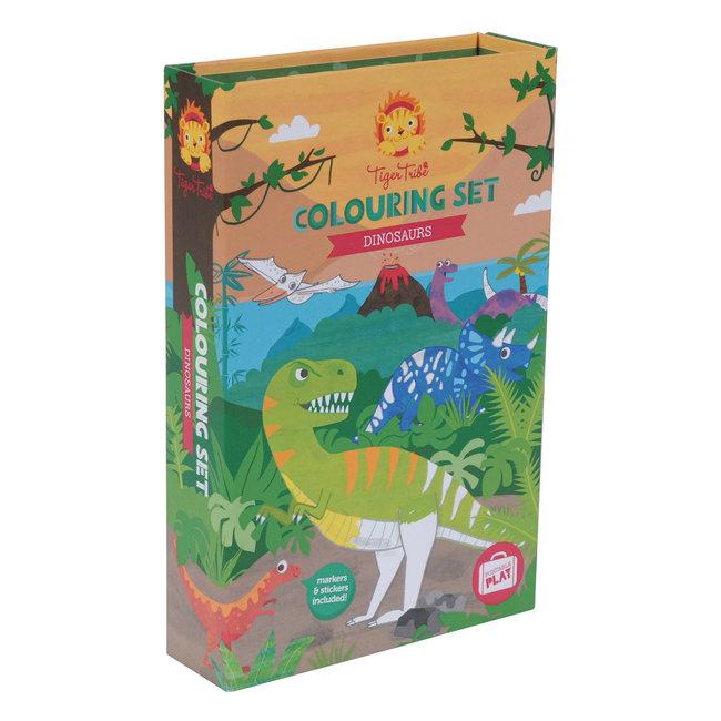 Tiger Tribe Inkleurset Dinosaurus