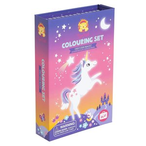 Tiger Tribe Colouring set Unicorn