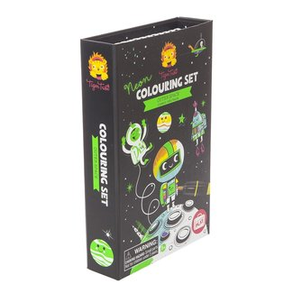 Tiger Tribe Neon Farben-Set Outer Space