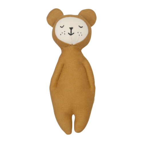 Fabelab Rattle bear ocher