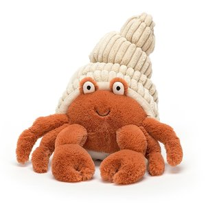 Jellycat Herman Hermit Crab In Shell Orange 29 cm