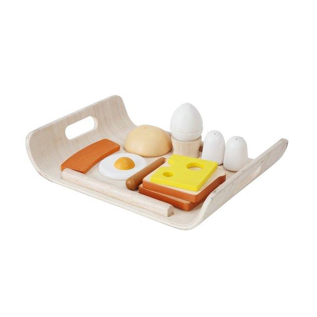 PlanToys Frühstück Set auf Tablett