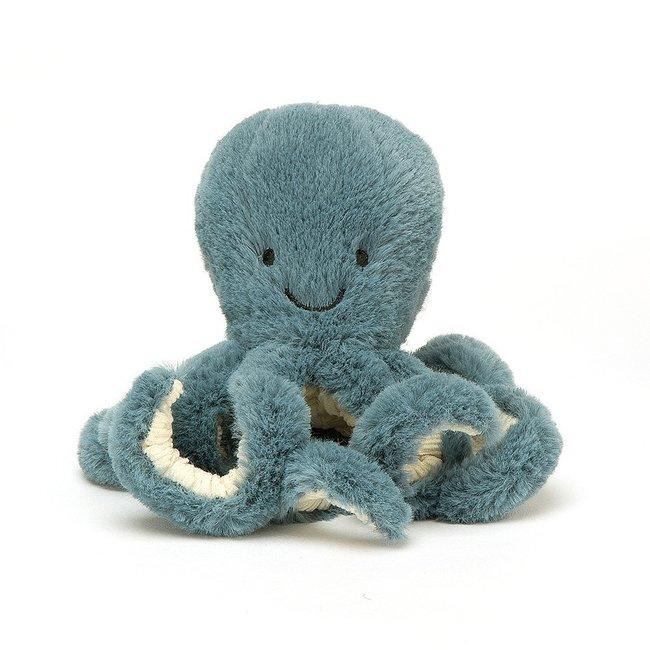 Jellycat Octopus Storm Baby 14 cm Blue