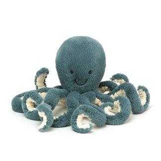 Jellycat Oktopus Storm Kuscheltier Blau Small 23 cm