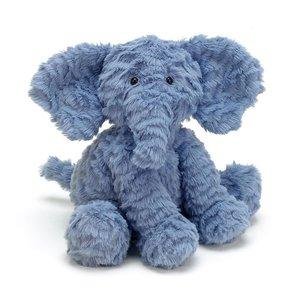 Jellycat Fuddlewuddle Elephant 23 cm Blue