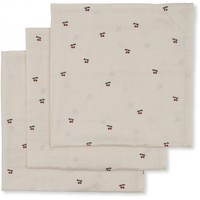 Muslin Cloth Cherry 3 Pack