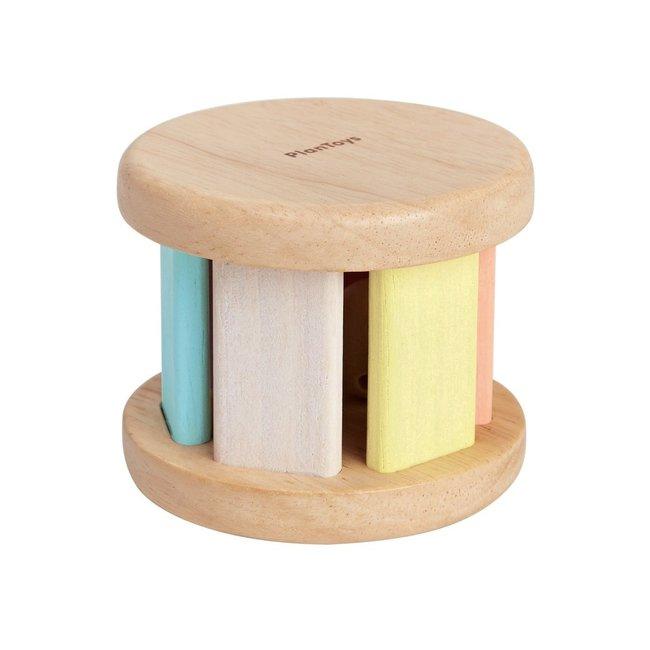 PlanToys Walze Krabbelspielzeug Pastell