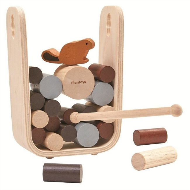 PlanToys Timber Tumble Spiel