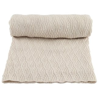 Konges Sløjd Baby Blanket Pointelle Off White