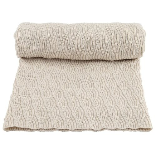 Konges Slojd Baby Blanket Pointelle Off White