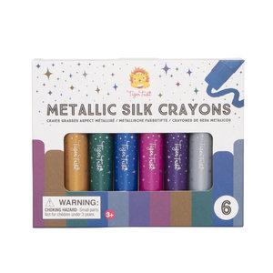 Tiger Tribe Metallic Silk Crayons