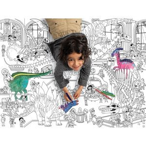 Crocodile Creek Giant Coloring Poster Dinosaurs