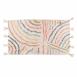 KidsDepot Berber Teppich Pastell