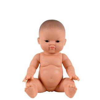 Paola Reina Puppe Gordi Asiatisch Mädchen Blanca