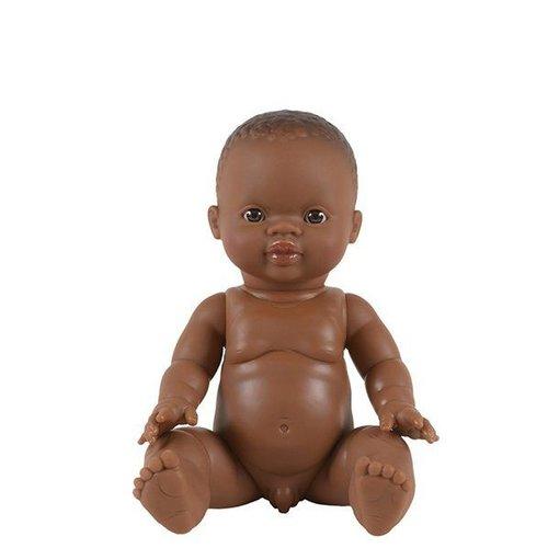 Paola Reina Puppe Gordi afrikanischer Junge Bonifacio