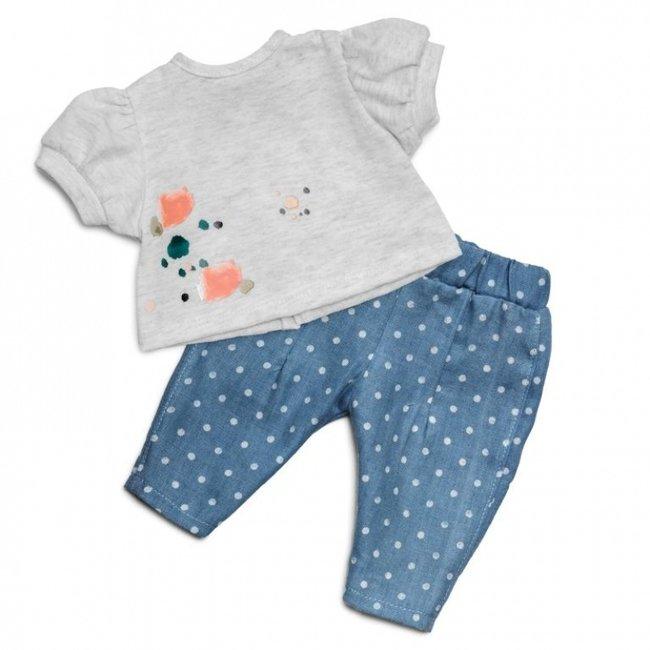 Skrallan Puppenkleidung Jeans & Pullover
